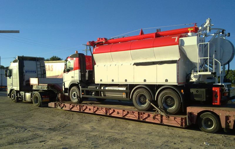 Transporte de vehículos y maquinaria Rodante (RO-RO)